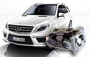 Regeneracja wału napędowego Mercedes