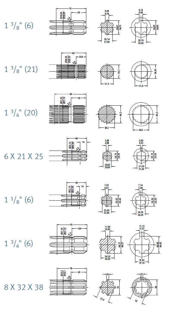 Autocardan produkuje, naprawia i regeneruje wały przegubowo - teleskopowe, wały rolnicze PTO / WOM